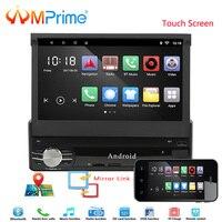AMprime Авторадио автомобильный радиоприемник gps Bluetooth стерео 7 1 Дин игрока в тире стерео FM USB SD MP5 с заднего вида Камера