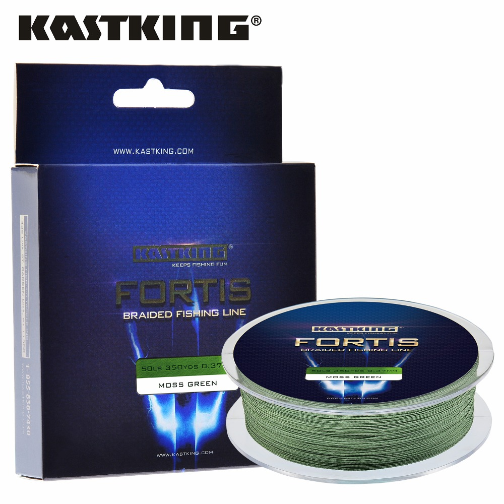 Kastking fortis 320m 350yards pe braided fishing line 4 for Best saltwater fishing line color