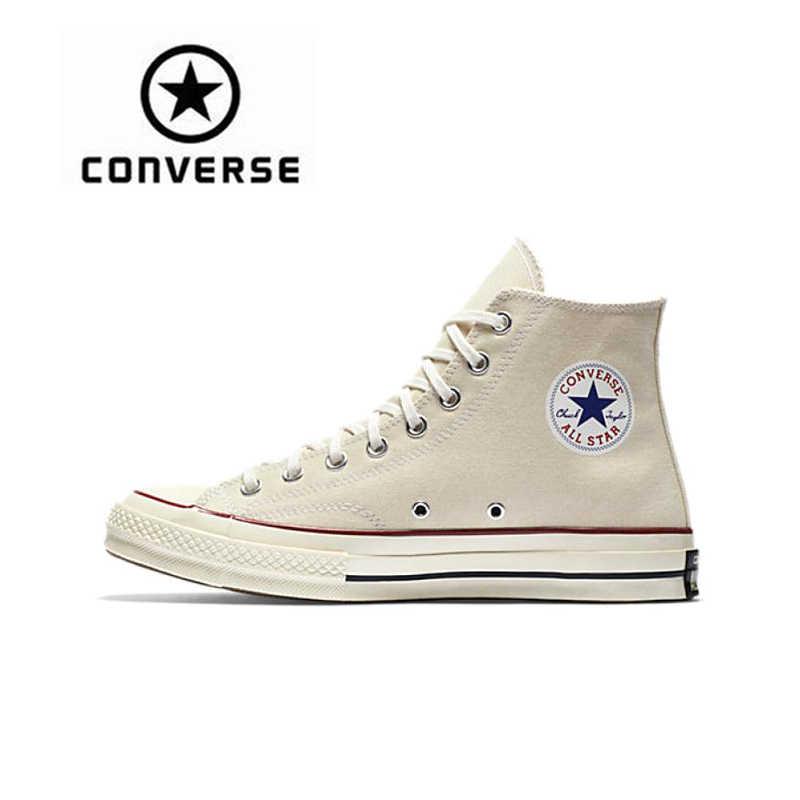 Converse Skateboarding Shoes Original Classic CTAS 70 Hi Unisex Canvas High  Top Anti-Slippery Sneaksers 46757a86f