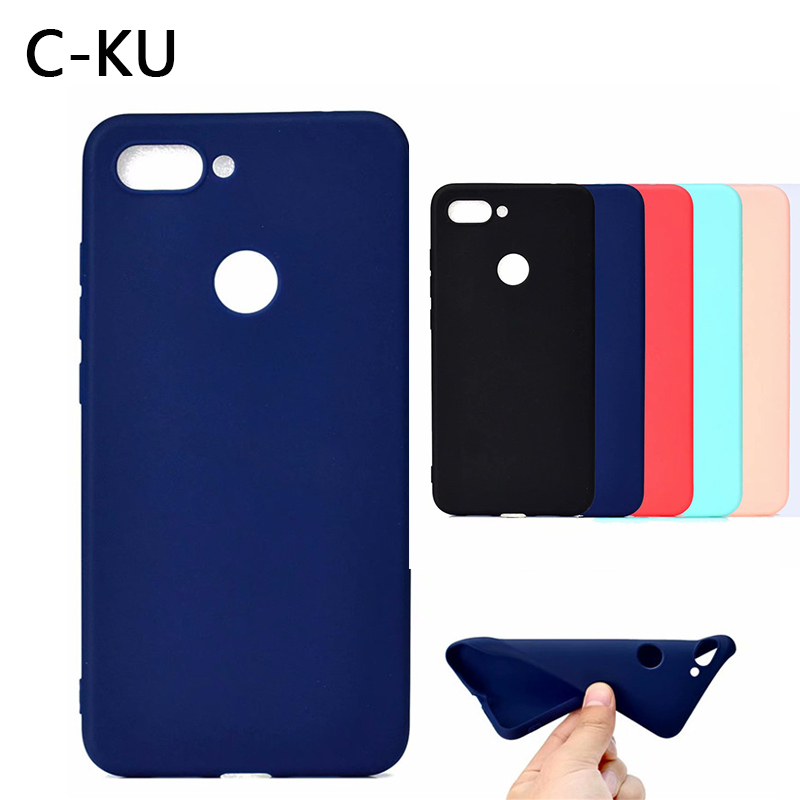 Luxury Soft Silicon Case for <font><b>Xiaomi</b></font> MI 8 SE 6 6X 5X MIX 2 Pocophone F1 Clear Matte Back Cover for Redmi 6 6A S2 Note 5 5A 6 pro image