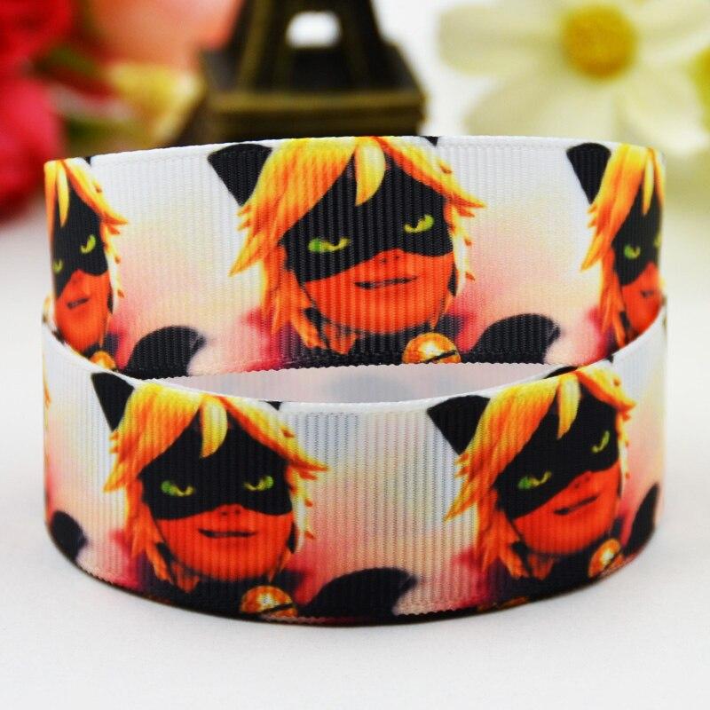 7/8 »(22 мм) lady Bug с героями мультфильмов Grosgrain ленты вечерние украшения, атласные ленты x-01426 OEM 10 метров