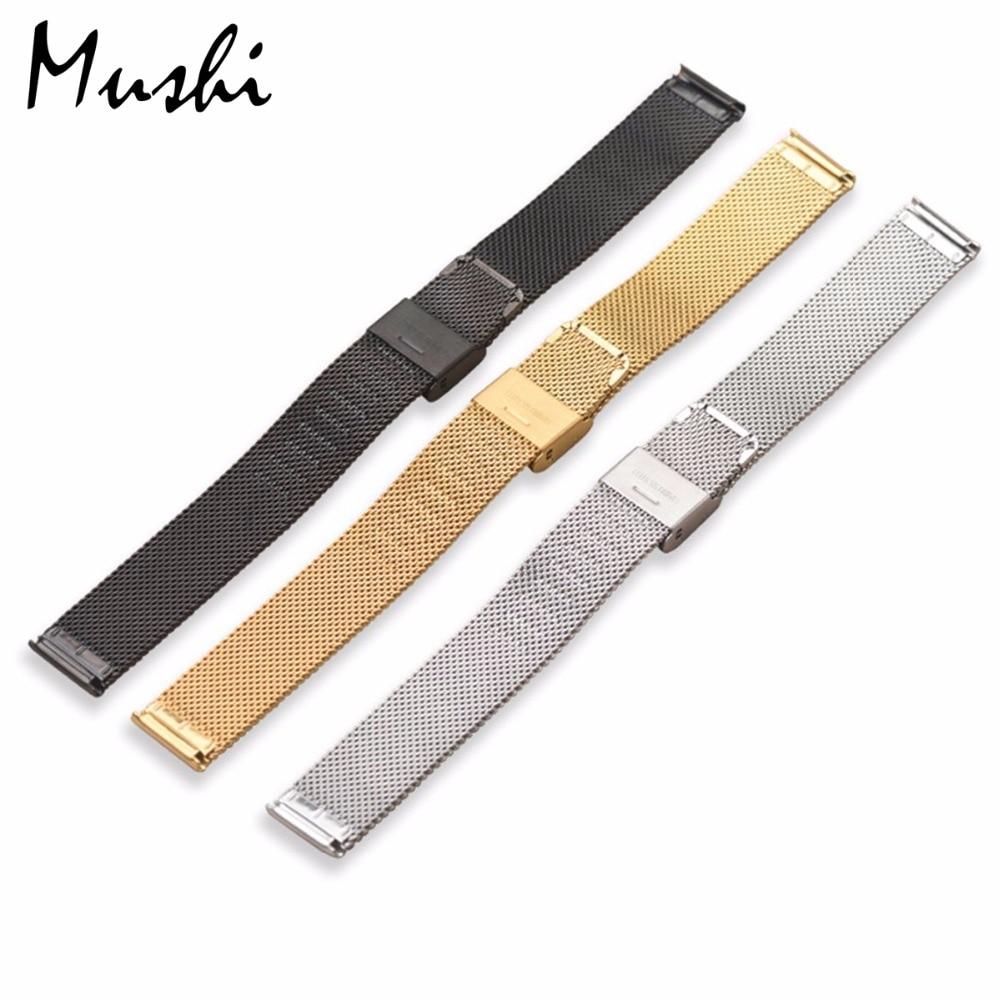 Milanese Stahlarmband für DW Armband Armband Silber Edelstahlarmband - Uhrenzubehör - Foto 2