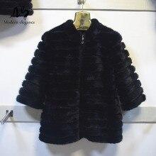 High Quality Real Mink Fur Jacket with Zipper Real Natural Mink Fur Coat Women Genuine Mink Fur Coat Russian Winter Warm Jackets