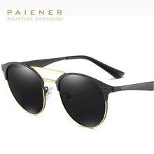2017 gafas de Sol Polarizadas Hombres Mujeres Diseñador de la Marca gafas de Aleación Marco de La Vendimia Gafas de Sol Hombres oculos gafas de sol hombre mujer
