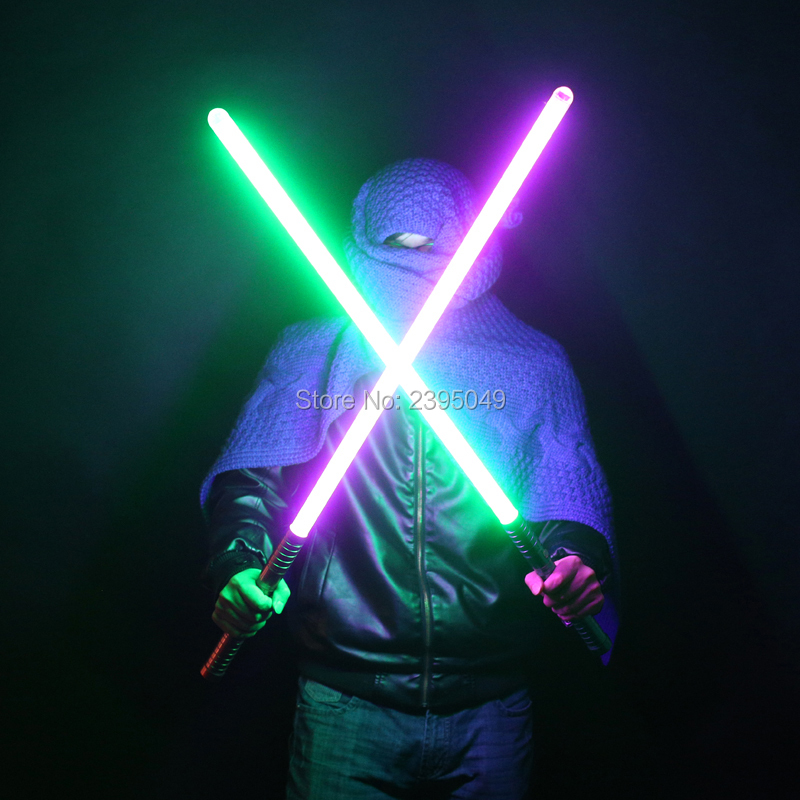 27 Types 100cm Cosplay Luke Black Series Skywalker Lightsaber Blue Saber Sword Electronic Toy Light Slight Collision Gift Toy new 8 types 1 pcs led lightsaber with sound brilliant light luke black series skywalker lightsaber blue vader sword cosplay toy