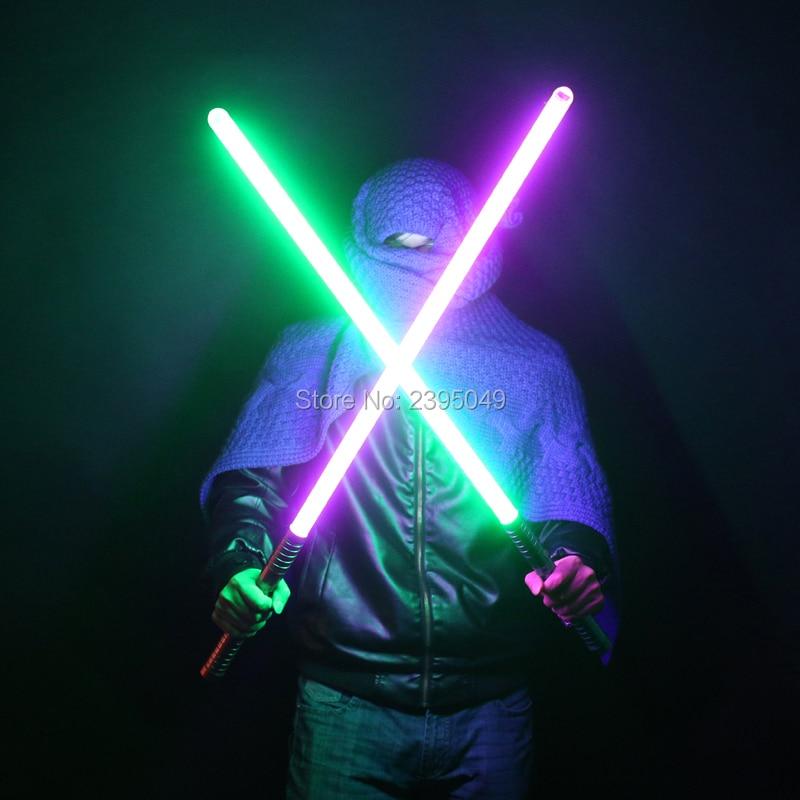 New 27 Type 100cm Cosplay Luke Black Series Skywalker Lightsaber Blue Saber Sword Electronic Toy Light Slight Collision Gift Toy