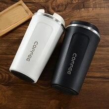 380 мл/510 мл Термос из нержавеющей стали для кофе, кружка, портативные автомобильные термосы, Термокружка для путешествий, бутылка для воды, Термокружка