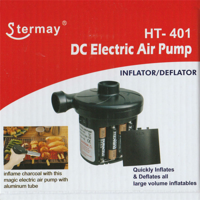 Battery Electric Air Pump Powered by 8 pieces AA batteries ...