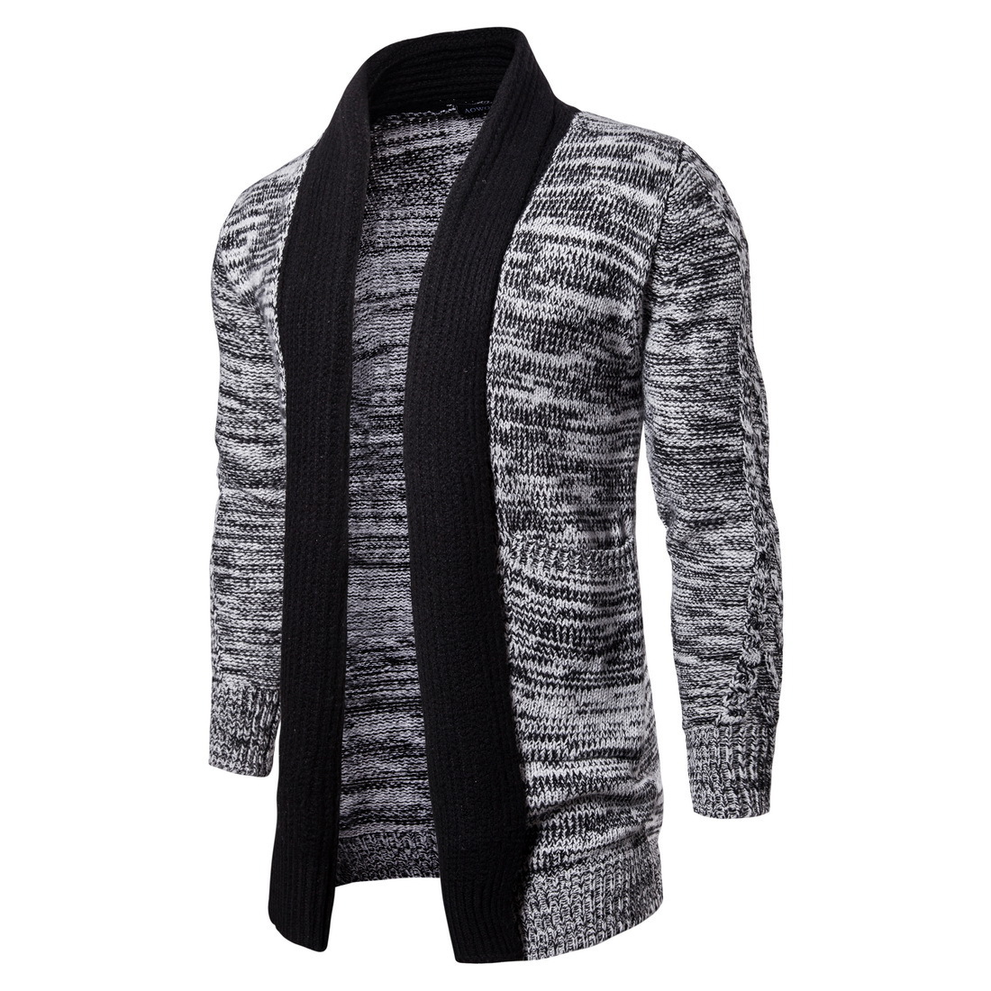 High Quality Fashion New Arrival Autumn And Winter Clothing Medium And Long Sknitted Sweater Jacket Cardigan Men Sweaters 2XL