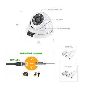 Image 5 - Azishn金属H.265 5MP 2592*1944 フルhdセキュリティipカメラHi3516EV300 onvif IP66 rtsp P2P防水ネットワークcctvカメラ