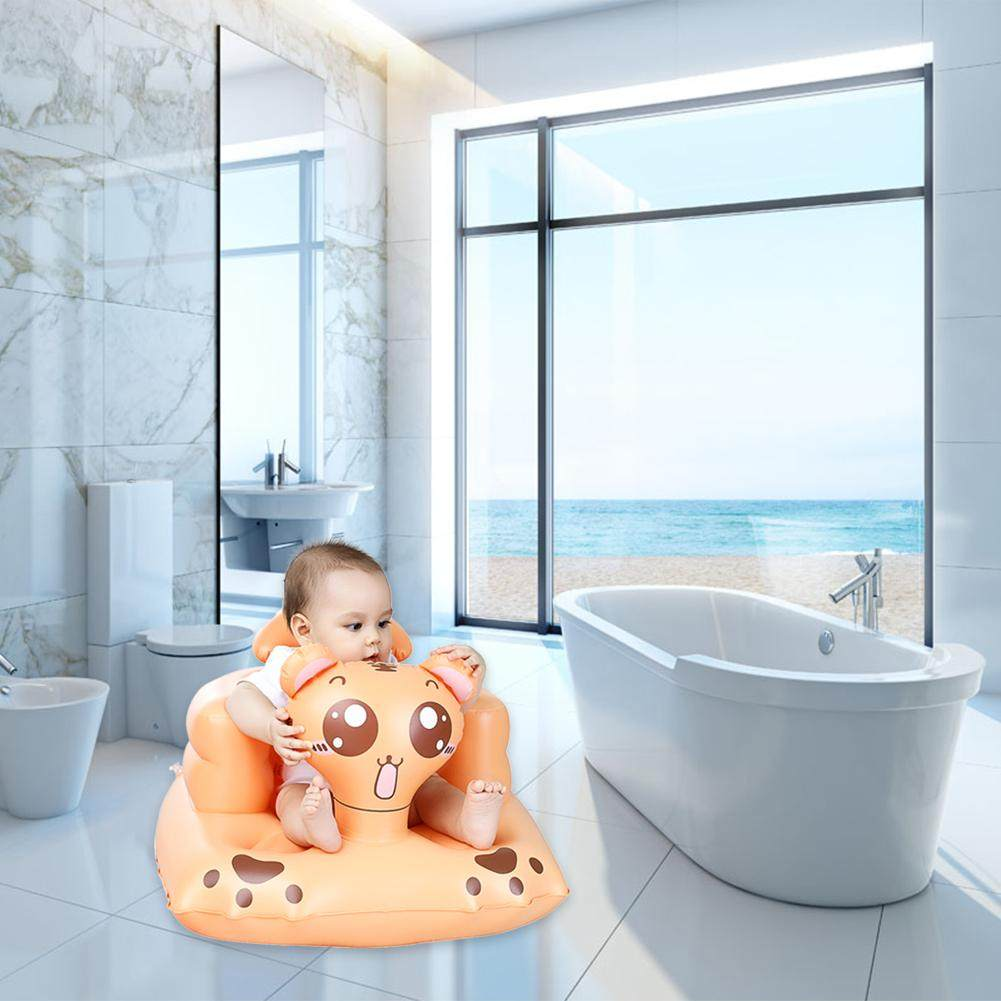 Online Shop Kids Baby Seat Inflatable Chair Sofa Bath Seats Dining ...