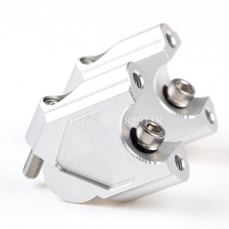 32mm CNC usinage guidon Risers barre pince étendre adaptateur avec boulons pour BMW R1200GS LC ADV 2014-2017