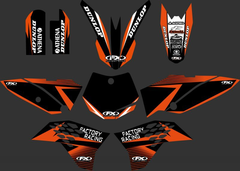 (black orange 0249) New Style TEAM GRAPHICS & BACKGROUNDS DECALS STICKERS Kits for KTM 65 SX 2009 2010 2011 2012 2013 0251 new style team decals stickers graphics kits for sx50 50cc 50 50sx for ktm 50 2009 2010 2011 2012 2013