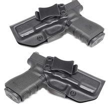 IWB Kydex – étui à pistolet personnalisé, 9mm, dissimulé, pour Glock 17 19 22 23 25 26 27 31 32 33 43
