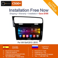 Ownice C500+ G10 8 Core Android 8.1 car radio 2 Din GPS player audio Navi for volkswagen VW Golf 7 Tiguan Passat With Blutooth