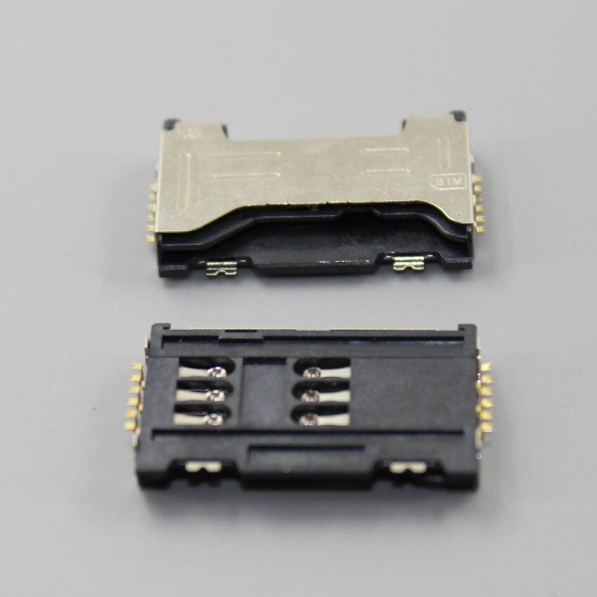 ChengHaoRan 2PCS Sim Card Reader SIM Card Slot for GT-C6712 , GT-S7562 Galaxy S Duos,KA-173