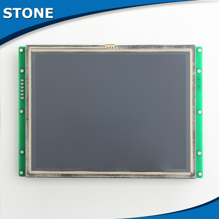 65K Color & RS 232/485 Interface Touch Screen Monitor 4.3 Inch