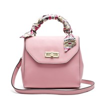 2014 Spring Series Woman Leather Handbag High Quality Genuine Leather Candy Colors Fashion Design Pink Yellow