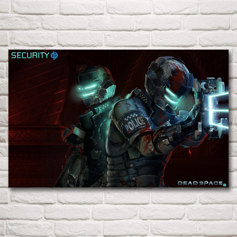 Foocame dead space 2 3 hot video game art silk poster wall - Ideas for dead space in living room ...