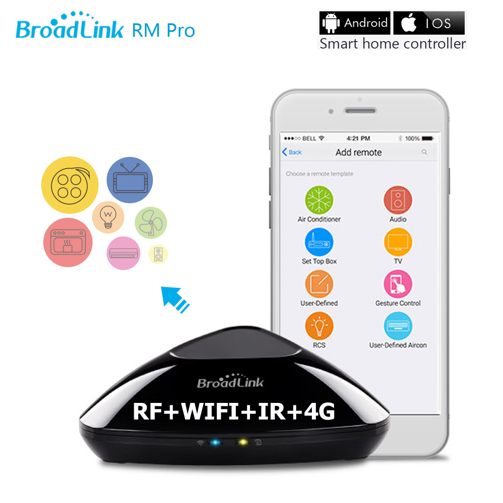 New Broadlink RM Pro RM2 Smart Home Automation Intelligent Controller Wireless W