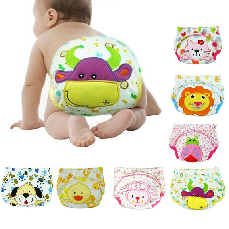 Children Cartoon Potty Leak-proof Diapers Training Pants Cotton Panties 80 90 100 Cm Briefs Newborn Underwear For Baby Boy