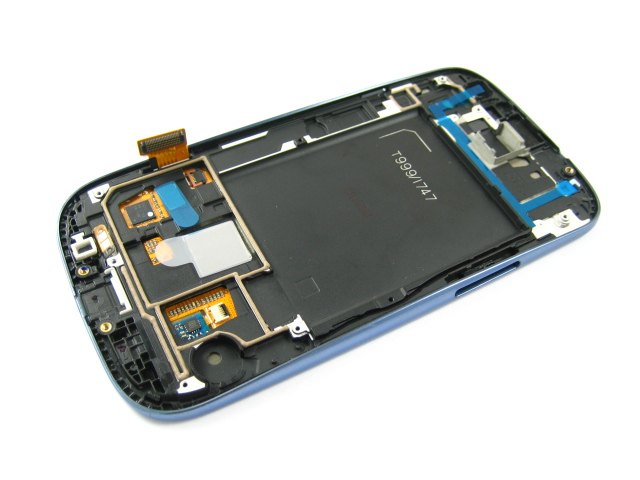 Full LCD Display + Touch Screen Digitizer for Samsung Galaxy S3 AT&T SGH-i747 / T-mobile SGH-T999 Blue / White