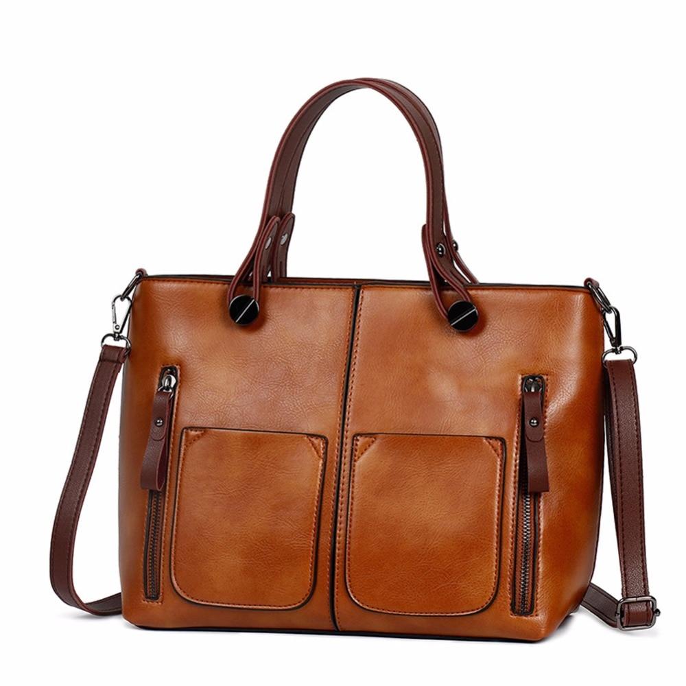 Vintage Γυναικεία τσάντα ώμου Γυναικείες Αιτίες Totes για ... 9dace0fa3e4