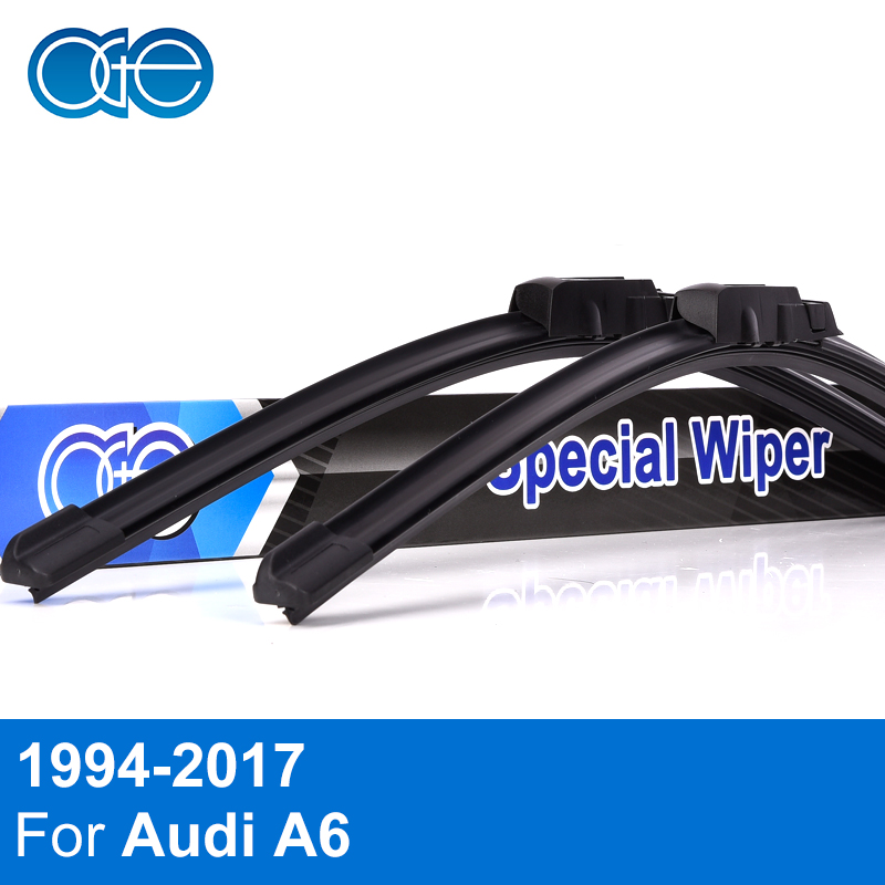 22''+22'' Pair Silicone Wiper Blade For Audi A6 C6 4F 2004