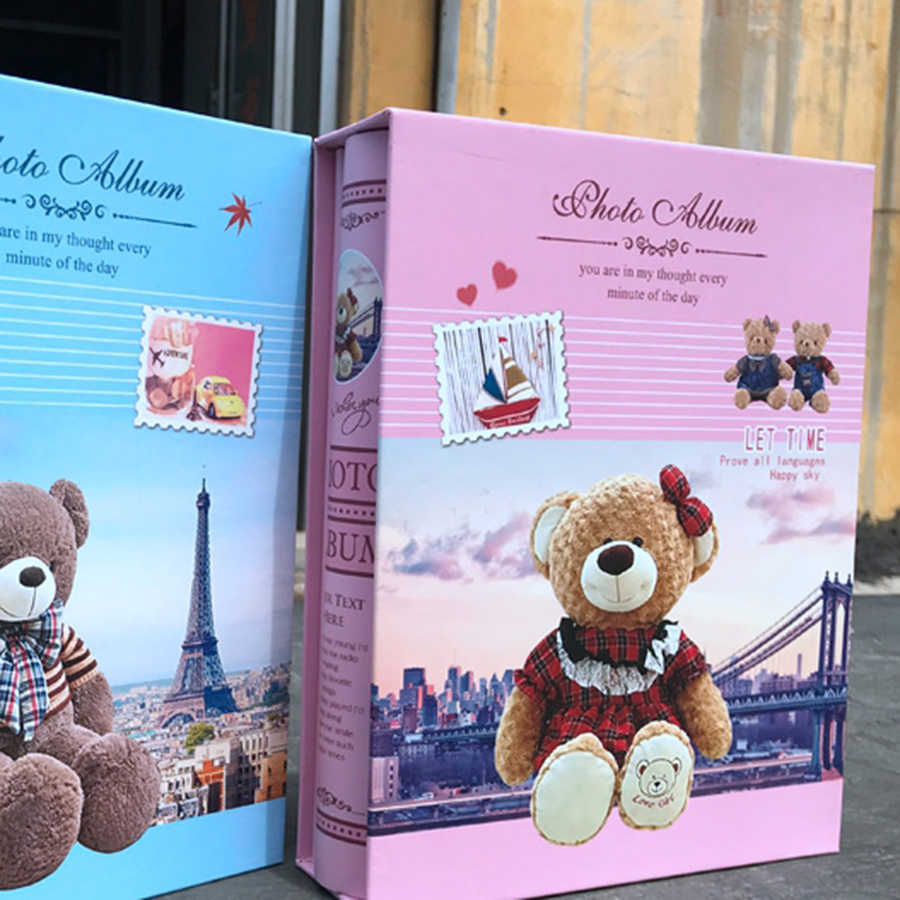 Baby Photo Album Grande Wedding Troquel Infantil Instax Album Baby Journal Record Book Family Photo Albums Children ABY006
