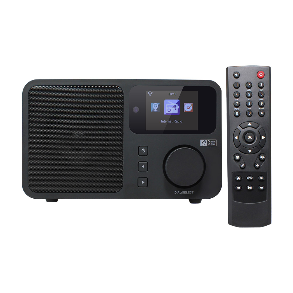 O-011 океан цифровой WR233 интернет Wi-Fi Радио беспроводной WLAN мультимедийный динамик музыка радио Wi-Fi Wlan беспроводное подключение рабочего стол...