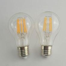 5 ШТ. E27 E26 СВЕТОДИОДНАЯ Лампа Старинные Эдисон светодиодная лампа 4 Вт 6 Вт 8 Вт AC220V/110 В A60 оболочки Ретро LED Лампами Накаливания Бесплатно доставка