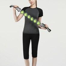 Фитнес Йога массажный ролик полный массажер для тела тензометрический джойстик Пилатес мышечная физиотерапия снятие массажа инструмент