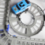 Nueva venta caliente 3d toys regalos festivos de dos capas espiral rodillo-guía montaña de Carril Eléctrico del Juguete Pista de Coches de Coche para Niños de Regalo Modelo