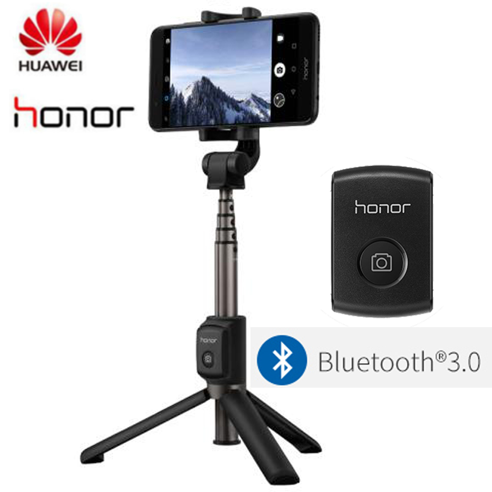 Original Huawei Honor Selfie Stick Tripod Portable Bluetooth3.0 Monopod for iOS/Android/Huawei smart phone original huawei honor selfie stick monopod wired selfi self stick extendable handheld shutter for iphone android huawei