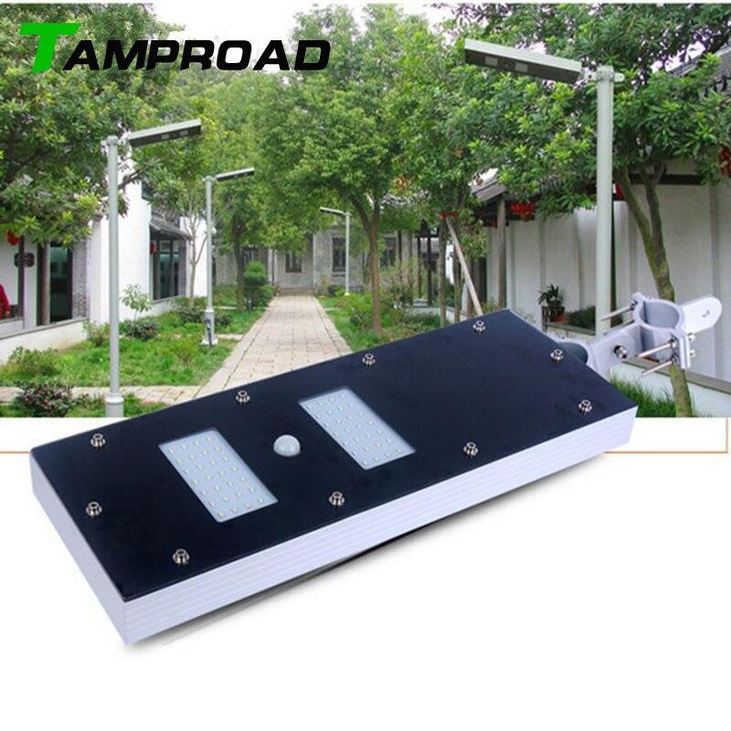 Tamproad Solar Light Wall Flood Lights Pir Motion Sensor