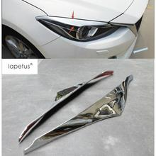 Lapetus Accessories For Mazda 3 AXELA Hatchback Sedan 2014 2015 2016 Front Head Lights font b
