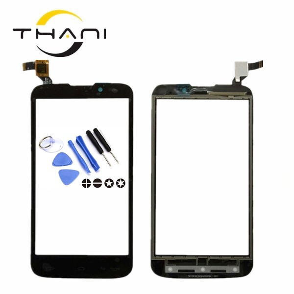 Thani 100% NEW Touch Panel For Fly IQ4502 IQ 4502 Qud ERA Energy 1 Touch Screen Digitizer Replacement Black Color+tools