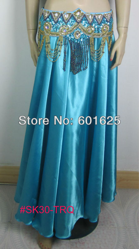 9b2cfe201 WHOLESALE HOT SELLING WOMEN'S BELLY DANCE SATIN SKIRT LATIN SAMBA BELLY DANCING  DRESS ACCEPT ANY COLOR AND SIZE