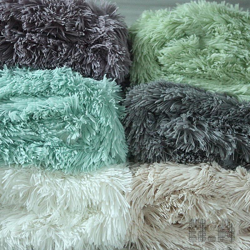 цена на Faux fur Long Pile Baby fluffy blanket, Newborn blanket photo prop Backdrop 130cmx180cm(51