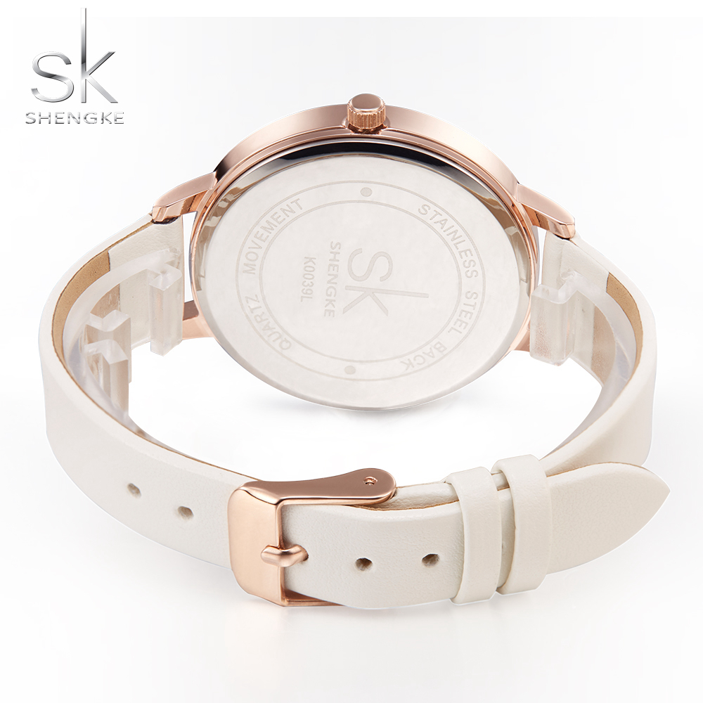SK 2018 Women Wirst Watch Rock Pattern Elegant Leather Watch Band Quartz Hours Young Girl Watches Style Clock Reloj Mujer Marble