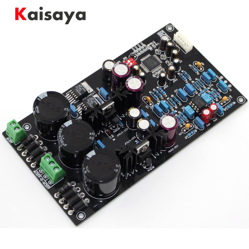 Besorgt Verbesserte Version Von Montiert Hifi Ak4495eq Seq Ii2s Dac Board Unterstützung 32bit 768 Karat Decoder Op Amp Ad827 Lt1963-3.3 Geschickte Herstellung Tragbares Audio & Video Digital-analog-wandler