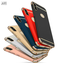 JGKK for Redmi Note5 Note 5 Pro Luxury 3 In 1 Full Body Cover Back Case Protector Xiaomi 5Pro Three One Hard Coque