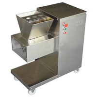 Commercial Electric Meat Slicer Meat cutting machine stainless steel meat cutter 800kg/h meat processing machine 110v/220v/380v