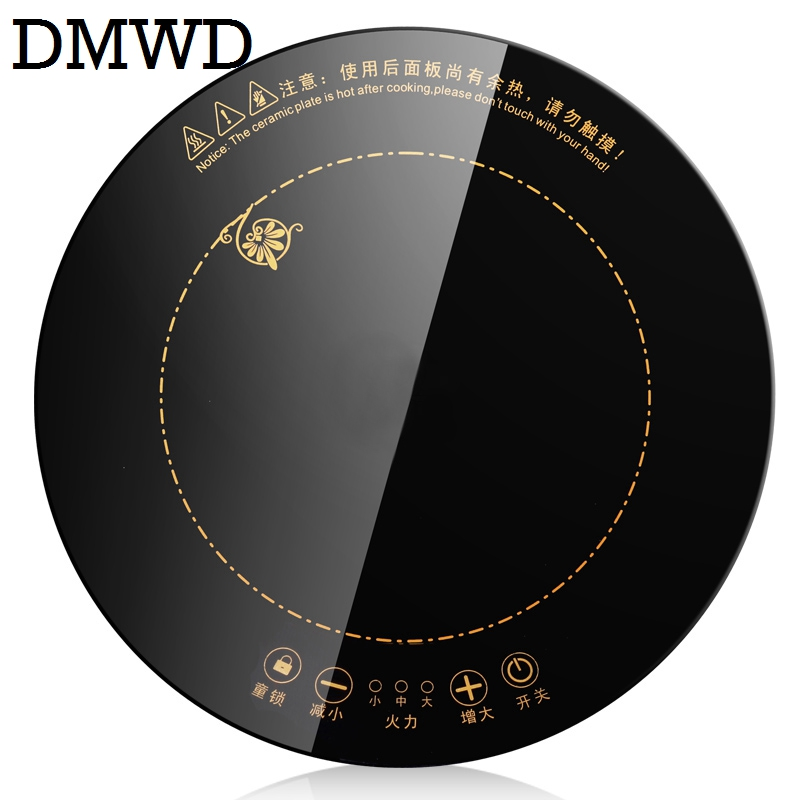 DMWD electric magnetic induction cooker 2000W 2200W wire control Embedded stove cooktop MINI hot pot waterproof cooking Burner electric 4 heads and 6 heads induction cooker embedded electromagnetic oven household commercial electromagnetic furnace cooking