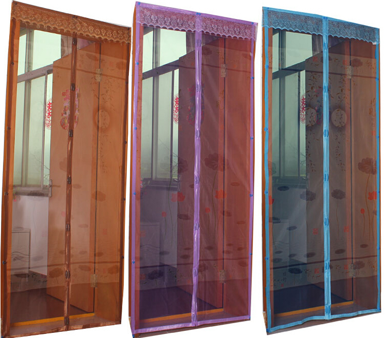Curtains Door \\\\\\\\\\\\\\\\u0026\\\\\\\\u0026; Window Screens Mosquito Curtain Lotus Printing Magic Mesh Door Net Magnetic Anti & Insect Door Nets \u0026 Jml Snap Screen Door Mesh Magnetic Auto ... Pezcame.Com
