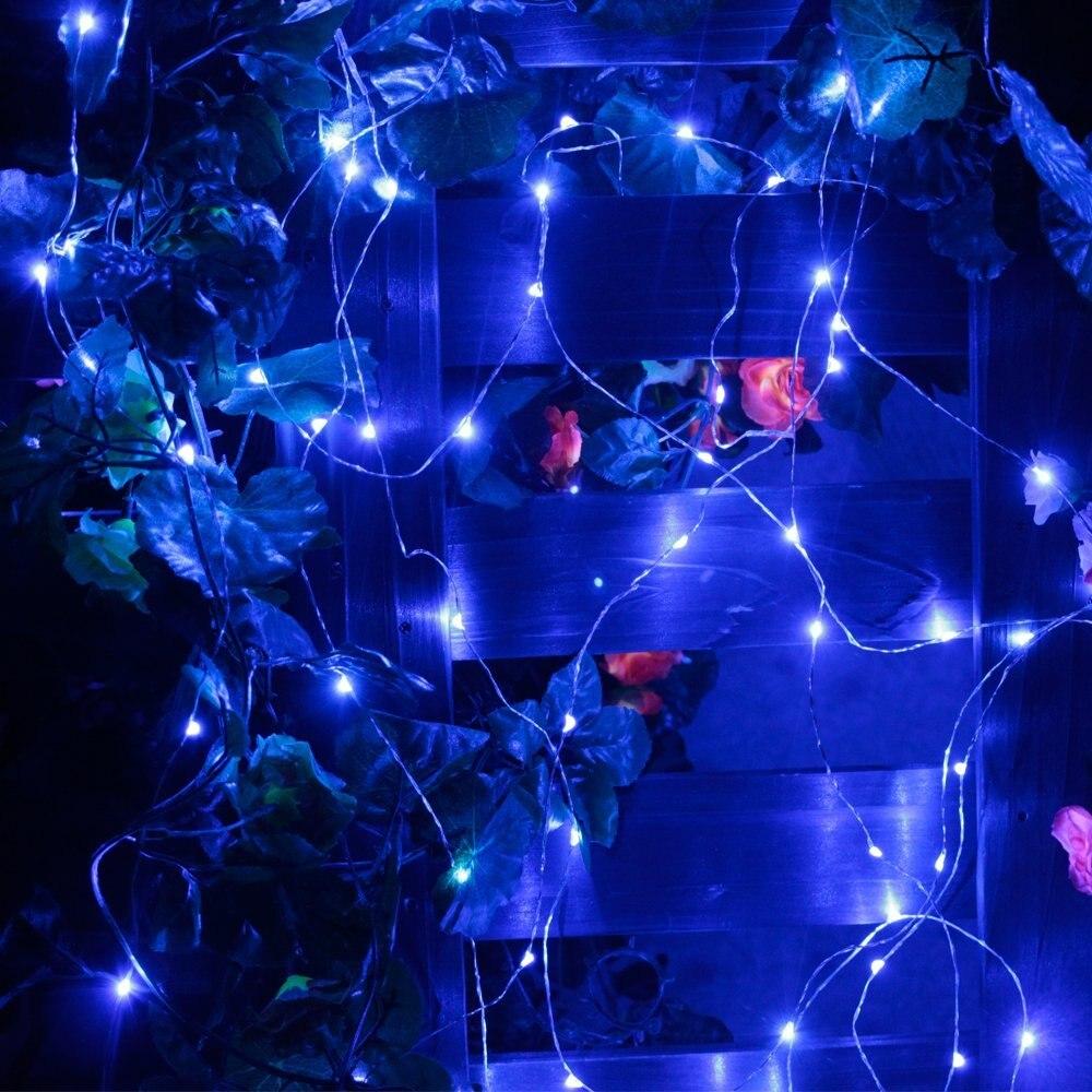 3 M30 LED AAA Batterie Betrieben LED Silber Draht String licht ...