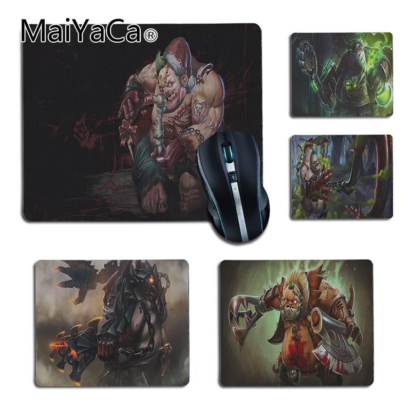 Symbol Of The Brand Maiyaca Mouse Pad Girl With Gas Mask Rubber Soft Aming Mouse Ames Black Mouse Pad Speed Control Version Mouse Pad Mouse & Keyboards