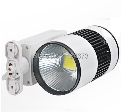 ФОТО Free Shipping Lowest price 30W LED track light for shop/store warm write/write led ceiling with 2 years warranty