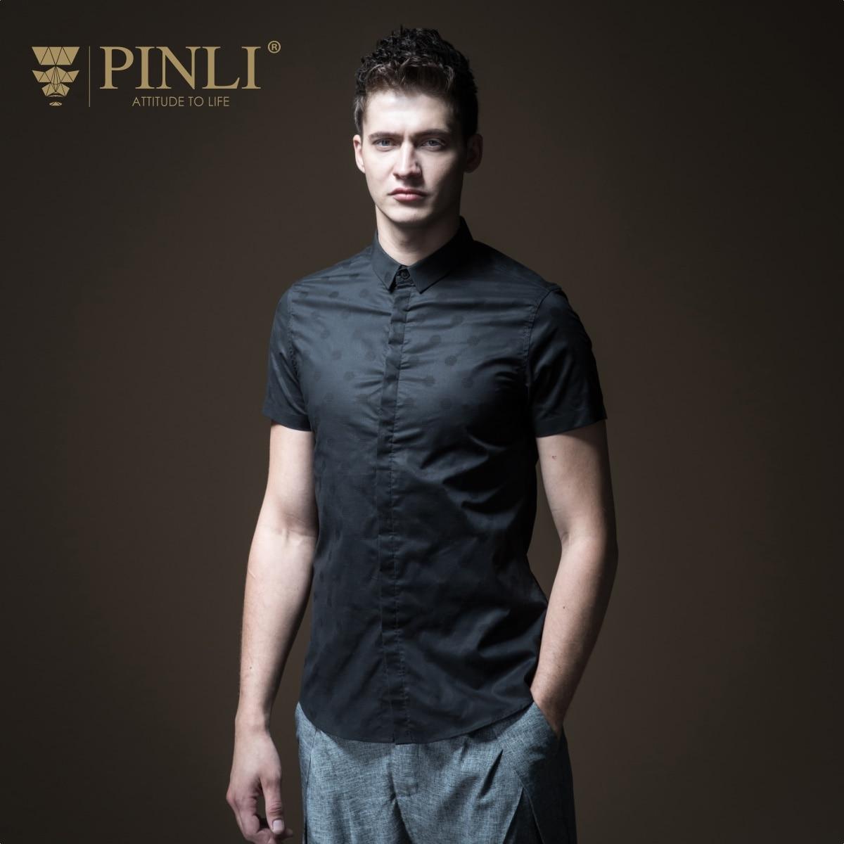 67192676b ชายเสื้อ Blusas Masculina จริง Pinli ปกติ Pin Li ฤดูร้อนใหม่ผู้ชายชุด,  สีสบายๆสบายๆแขนสั้นเสื้อ B182613498 ~ Free Delivery June 2019