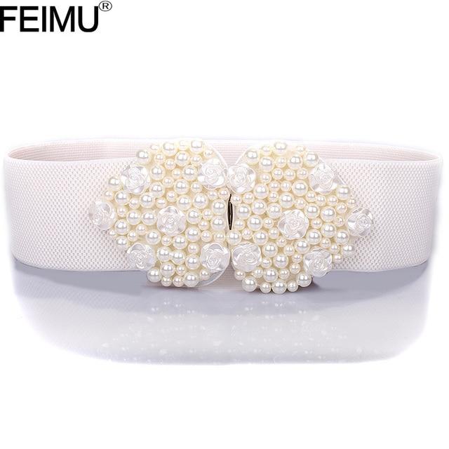 2016 New Wide Beading Bridal Belts Elegant Wedding Belt and Sash with Pearls Wedding Accessories cinturon para vestido noviaPF33